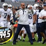 At 9am tomorrow @coachjfranklin will call in to B94.5 to get u pumped for @PennStateFball whiteout vs osu sat night! http://t.co/XARxFAbWCY