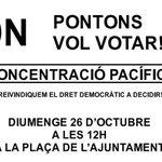 Difusió sisplau. Sóc de #Pontons i vull participar el #9N @assemblea @xarxapenedes @eixdiari @el3devuit @la_fura http://t.co/eYCsM29t6A