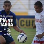 RT @CDOlimpia: Olimpia vs Motagua en el gran clásico. Los precios: Sol: L.60 * Sombra: L.100 * Silla: L.300   #RugeLeon http://t.co/1OHVGWkTZm