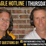 Golden Eagle Hotline with @CoachToddMonken airs tonight from 7-8pm at Mugshots. Come join us! #SMTTT http://t.co/GZBHEZZhAc