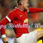 """@Elena888gudina: Happy Birthday to our captain @WayneRooney ! ♥ @ColeenRoo #MUFC #GGMU #Wazza #Rooney http://t.co/zkHBstplZv"""