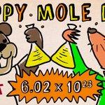 Happy #MoleDay2014, from MIT! http://t.co/Ka4UQmGVLU