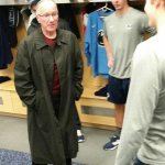 The legendary Doc Emrick stopped by campus to check out #HockeyValley today. (photo: @PennStateMHKY) http://t.co/1lpvHp1LET