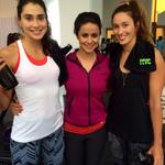 Post another #NTC work out. With Maria Cara & Carolina Salgado- the epic beach volley ball goddesses! #Nikewomen