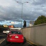 Acabo de ver a Batman en Viaducto. No es choro, @EPN. http://t.co/HVVMtTqGMA