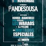 #CARACAS 9 DE NOVIEMBRE,PANDESOUSA ESTRENA SU DISCO CON CONCIERTO GRATIS ,MAS RONKO Y BIANCUCCI,LOS WARAOS Y MAS..,. http://t.co/fp0PmBTGPz