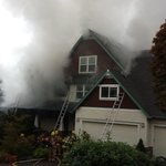 Crews moved to defensive fire attack on fully involved house fire on Shannon Pl in West Linn. No injuries reported. http://t.co/gi0YpThJ3G