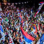 #UruguayDecide | Frente Amplio cierra campaña con multitudinario acto en #Uruguay http://t.co/HHKQHPHmoD http://t.co/Pr0go3hXso