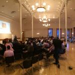 RT @jeremyhanks: iPhone pano magic showing awesome Provo City Library ballroom with 150 people for Provo #LaunchUp http://t.co/qqNCvf6CAs