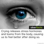 RT @UberFacts: Crying is good for you http://t.co/vPIsy7mfBb
