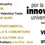 RT @Mov20_Nurr: Este 12 de Noviembre #Vota20 x la Innovación Universitaria en la ULA @JorgeGimenezULA @movimientoiu20 @Jorge_Eliezer http://t.co/s7SibVJg4A