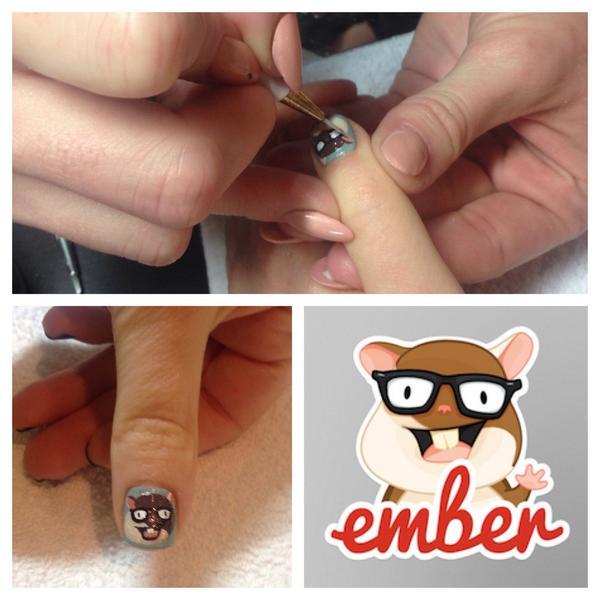 Ohai, Tomster! Whatcha doin' there? #emberjs http://t.co/IJ7iiYOyae