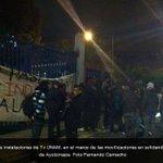 RT @lajornadaonline: Grupo de activistas toma instalaciones de @tvunam en apoyo a #normalistas de #Ayotzinapa -> http://t.co/pa34Dxfc7a http://t.co/0ucyMzjehU