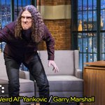 RT @LateNightSeth: TONIGHT: Weird Al (@AlYankovic) shares his reaction when he found out his new album was on top of the charts. #LNSM http…