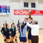 Northside Methodist wins the class A Volleyball Championship. This is Northsides first AISA championship! http://t.co/eEPWnkymJ2