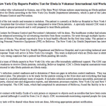 "RT @ZekeJMiller: ""@DanLinden: CDC statement on doctor who tested positive for Ebola in NYC http://t.co/hTufety3Bj"""