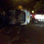 RT @elchavo2033: @catatumbo77 @areacucuta trancon en el malecón por accidente de transito, a la altura del retorno de la cll 15 http://t.co/3JYJNMJa5G