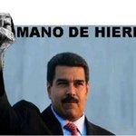 MANO DE HIERRO .@NicolasMaduro #ContrabandoEsContraPatria #MaduroAlFrenteVictoriaSegura http://t.co/EDWyOUsKZc