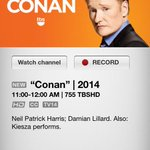#RipCity alert! @Dame_Lillard tonight at 11p on @TeamCoco. Watch @tbsveryfunny on @XFINITY channel 755 (HD) http://t.co/Licp2d8Uk0