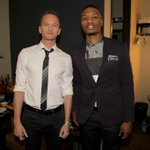 With @ActuallyNPH backstage @ConanOBrien http://t.co/SSw6nFPzYC