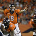 RT @SportsCenter: Peyton Manning now has 16 seasons with at least 20 Pass TD, passing Brett Favre for most in NFL history. http://t.co/mLmGA8kHnT