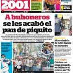 RT @globovision: #Titulares Diario 2001: A buhoneros se les acabó el pan de piquito http://t.co/FG6tZsqNeq http://t.co/TZIwwMOA5H