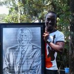 Collins Okello (0711765824) is a GREAT artist.He even did @LarryMadowo such wizard with pencil.Bring him on #TheTrend http://t.co/vivWeBkZvw