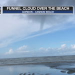 RT @fox12weather: Not a tornado, but a funnel cloud over Cannon Beach this afternoon. Thanks to Gordon http://t.co/C19xBcIwoN