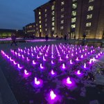 Granary Square was on Wednesday (22 October) lit up in pink to support leading charity @BCCampaign. #wearitpink http://t.co/tv43Af5gX9