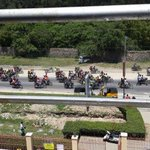 RT @Ma3Route: Mombasa Bodabodas on way to mtwapa carrying their dead colleage for burial... causing chaos http://t.co/NJw1cOAo8J via @TYCOONEWS