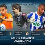.@uli_davila pasó el corte y es uno de los 3 finalistas al Mejor Jugador Americano de la #LigaAdelante1314. http://t.co/PDYapIsMzW