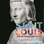 Saint Louis, roi de France en #Anjou, au château d'#Angers jusqu'au 25 janvier @leCMN http://t.co/SYnfJT4Ovs http://t.co/t9Tj5VFm6v