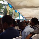 RT @CarolineMutoko: A full house - all glad to be here to congratulate @FirstLadyKenya on being named UN Person of the year 2014 http://t.co/uOWzLyb8Db