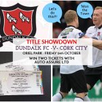 RT @autoassure: Only a few hours till the draw for 2 x @DundalkFC tickets for tonights match at Oriel. RT, Follow, or like on FB http://t.co/zIdLBHYQy1