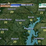 TGIF! It will be mostly sunny today but windy with gusts up to 25 mph. @ABC2NEWS @ABC2Weather #GMM2 #Baltimore #Kent http://t.co/U9UNfdXwwq