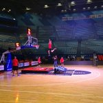If youre at tonights game youll see our Dunk Team in action! Theyre loosening up on court now. #RedArmy http://t.co/81lD9TWNBn