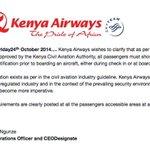 RT @NationFMKe: @KenyaAirways statement after @wetangula_moses airport standoff http://t.co/mv6sParLrA