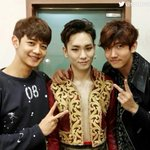 [SMTOWN] TVXQ! MAX, SHINee MINHO and KEY at the musical Zorro.   http://t.co/W5iFAoihrN  https://t.co/iNqT24Fpdz  https://t.co/HMlWH0MDtB