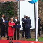 """""""I dont recognise this woman"""" said with a humorous laugh & pride & joy. @FirstLadyKenya UN Person of the year 2014 http://t.co/aQF2KxDcS6"""