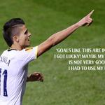 Its not every day you score a goal like @Coco_Lamela did last night... #COYS http://t.co/2pYXEffeGx