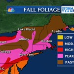 Updated #fallfoliage report: #NYC & Northeast: Spectacular color this weekend. The last for many! @NBCNewYork http://t.co/fAwHR3Ucen