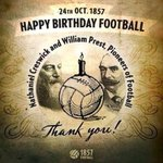 #happybirthdayfootball , let the world celebrate the roots of football and of @Sheffieldfc http://t.co/yhLYCwkrcP