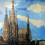 Que us sembla la #SagradaFamilia acabada! 2026 ??? #Barcelona #bcnd http://t.co/YMAiFZy1dX