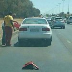 The warning triangle! @Ma3Route http://t.co/qP32JAdr9F