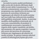 Questa la lettera UE che ha dato la possibilità a Renzi di rispondere per le rime, come premier di lotta e di governo http://t.co/CvS5RUfcG8