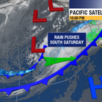 This weekend will include rain! Will it effect games 4 & 5 of the #WorldSeries? Forecast at 11, ABC7 News. http://t.co/vxfpZWQIFt