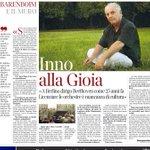 """Barenboin:""""Licenziare le orchestre è mancanza di cultura"""". Un messaggio per @ignaziomarino cui fischiano le orecchie http://t.co/s7SmYx4THx"""