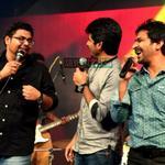 RT @silverscreenin: Of @madhankarky signature style & a cute paasa sandai. Everything about #Kappal track launch: