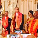 RT @KiranKS: Nice to see @JohnKerry at the first ever celebration of the Hindu festival of Diwali at @StateDept !! http://t.co/0oN1nrTWTP via @nwarikoo