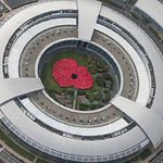 GCHQ turned into giant Poppy http://t.co/HUUY9CYaHw This timelapse video is lovely http://t.co/wjH3srZTEK